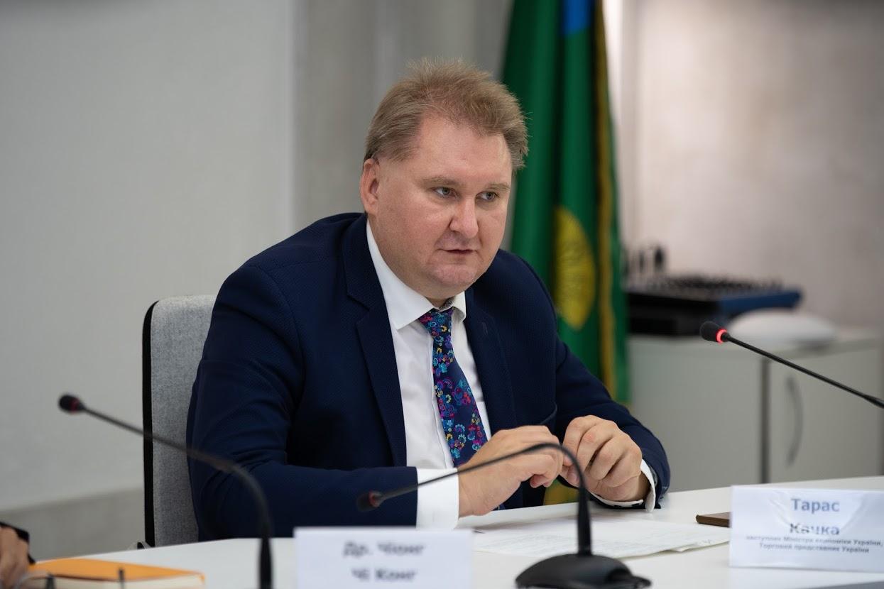 Тарас Качка, заместитель министра экономики Украины, торговый представитель Украины