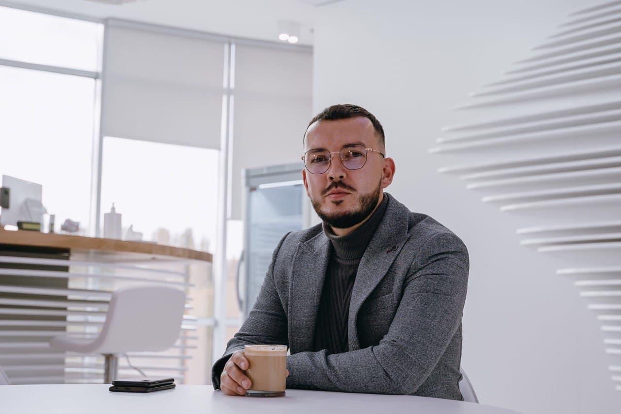 Максим Гузев, начальник отдела продаж продуктов переработки