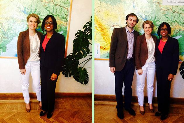 Встреча с директором по аграрному развитию компании DuPont Pioneer Листра Антуан