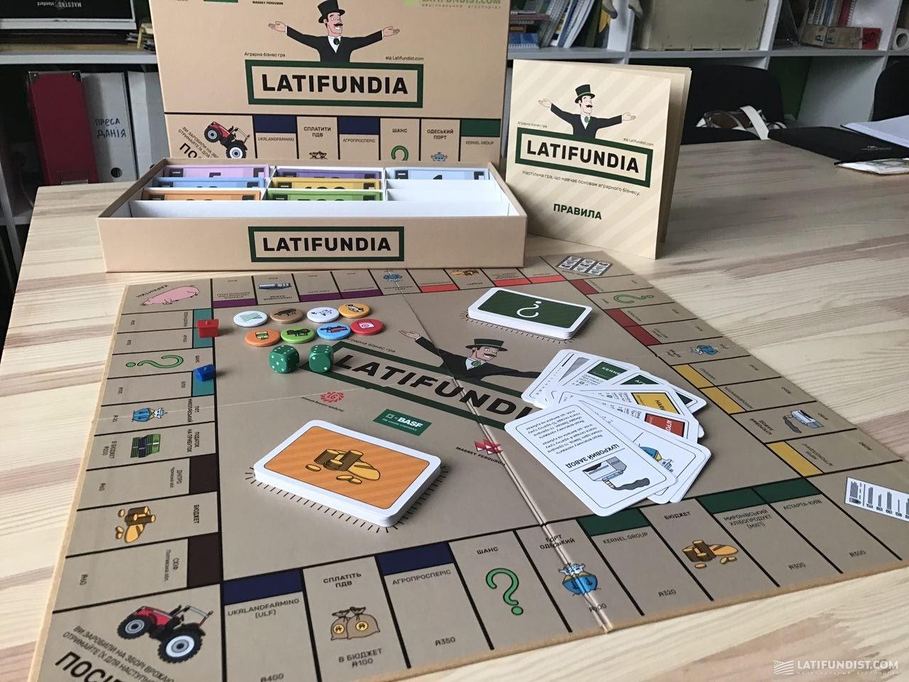 LATIFUNDIA. Аграрная бизнес-игра