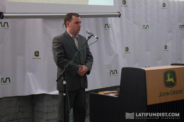 Территориальный менеджер компании John Deere Андрей Луцько