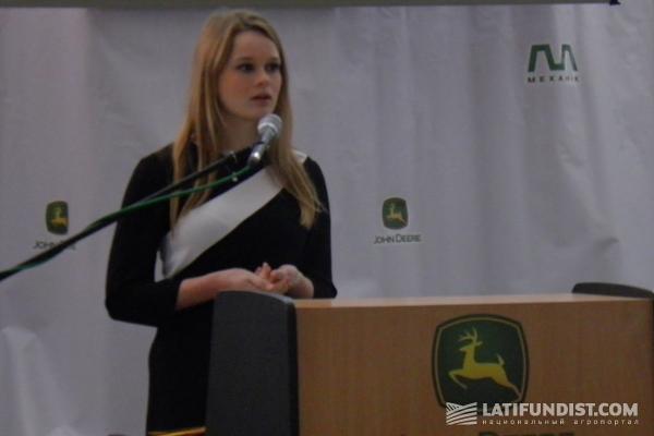 Жанна Дуфина, руководитель украинской «Агрошколы» и «Механик школы» «Мрии»