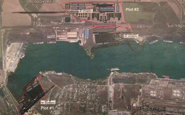 Схема размещения порта