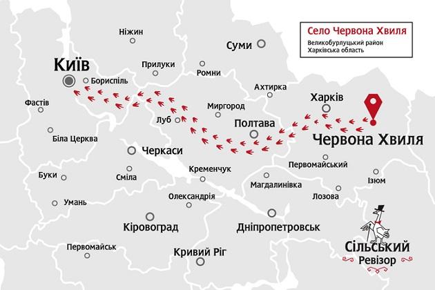 Первую инспекцию Сельский ревизор проведет в Харьковской области