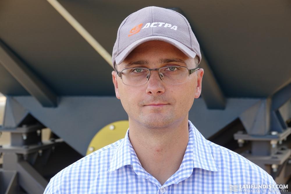 Игорь Губарев, генеральный директор компании АСА «Астра».