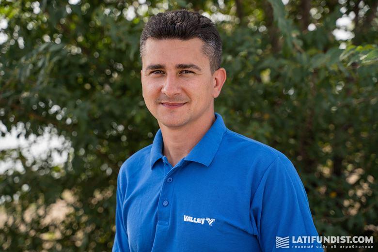 Дмитрий Жмак, менеджер по продаже систем орошения Valley в компании «АСА Астра»