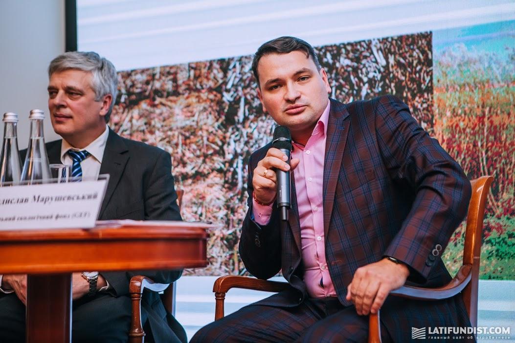 Владислав Марушевский, оперативный координатор GEF в Украине