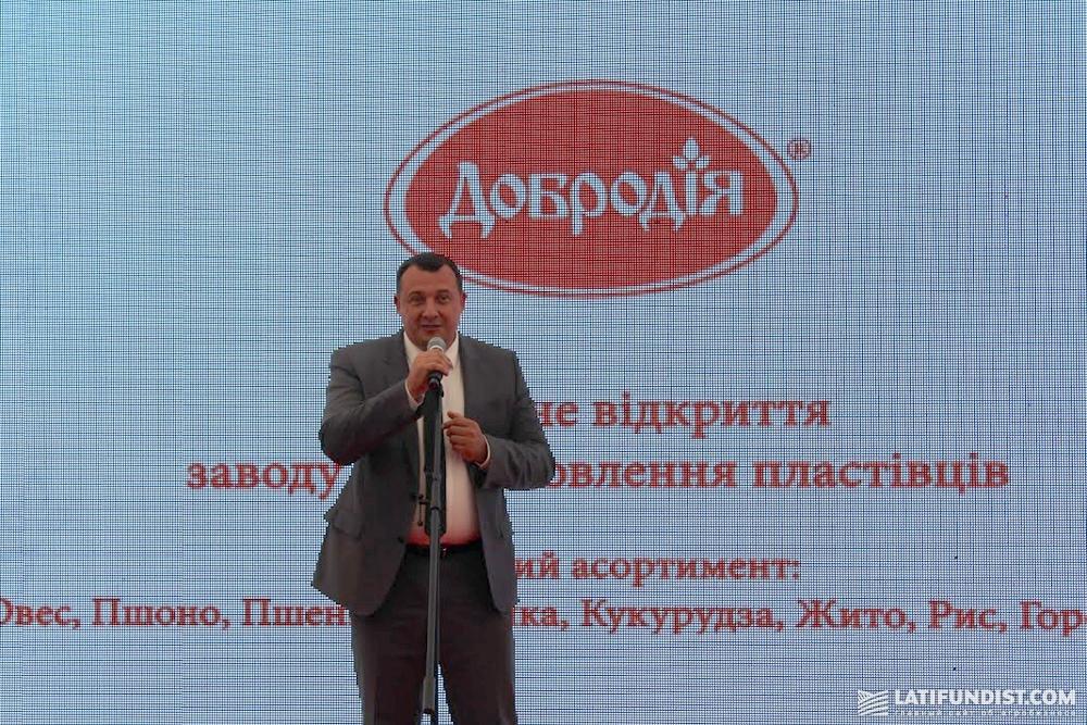 Валерий Кулич, председатель Черниговской облгосадминистрации