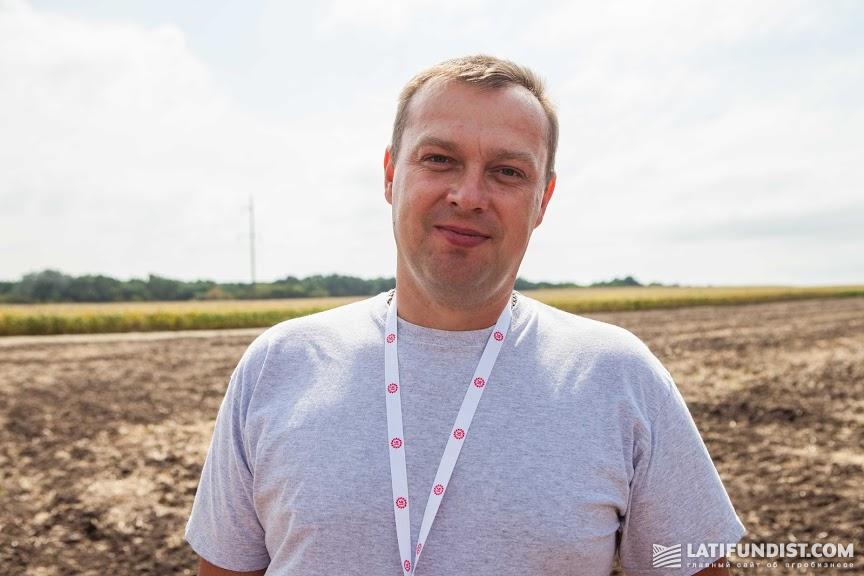 Олег Савченко, агроном по защите растений «НВФ «Урожай»
