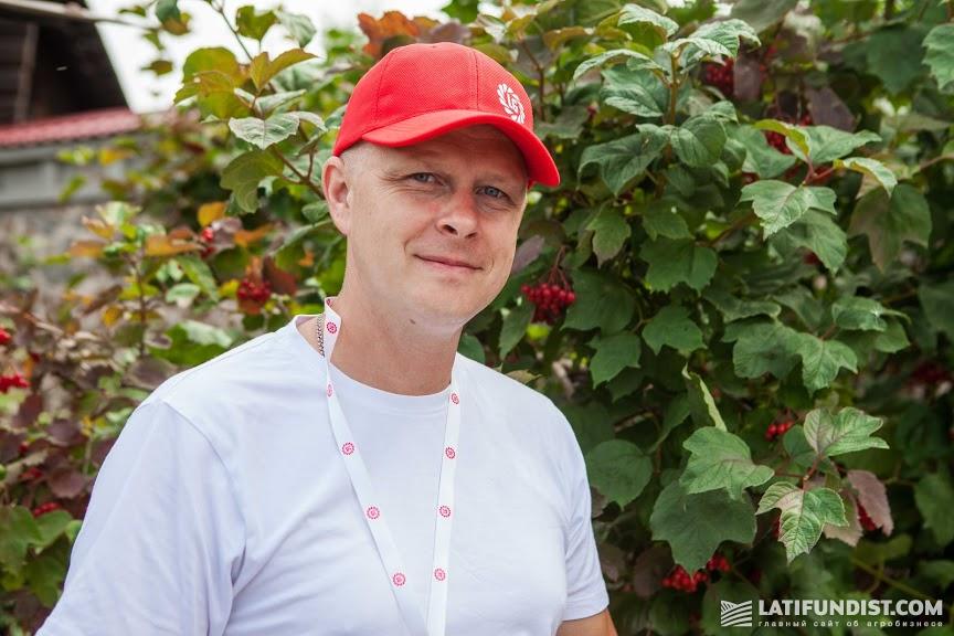 Сергей Рипа, представитель компании «Укрхимпром»