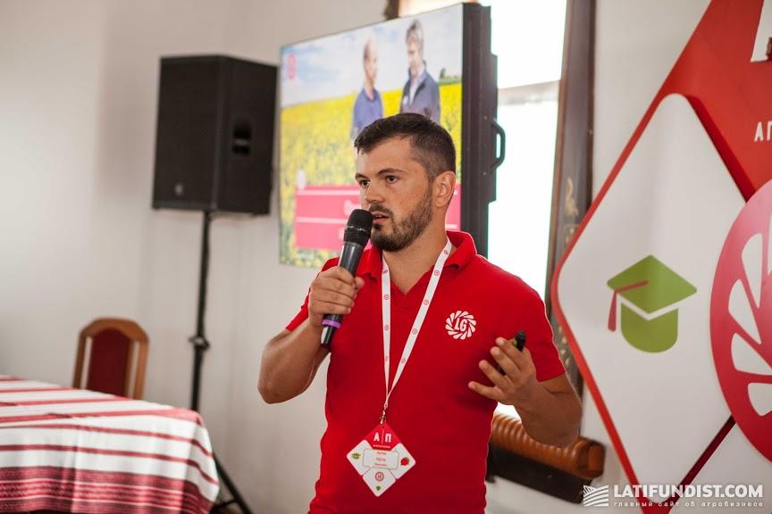 Артем Юрьев, продакт-менеджер по рапсу и зерновым «Лимагрейн Украина»