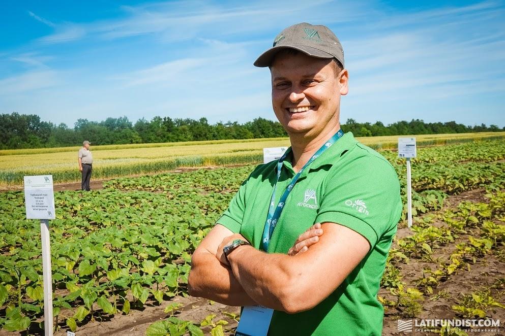 Михаил Румбах, технолог по выращиванию «Агроскоп Интернешнл»