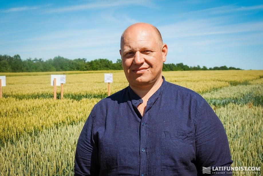 Вадим Косинов, главный агроном хозяйства «Гарант» из Харьковской области