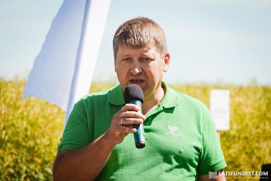 Сергей Бернадзиковский, руководитель отдела Агроцентров компании «Агроскоп Интернешнл»