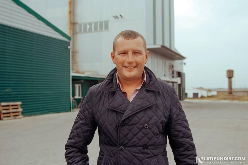 Сергей Костенко, директор сельскохозяйственного предприятие «Колос»