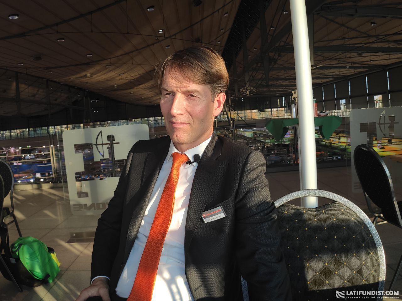 Кристиан Драйер, президент компании Amazone