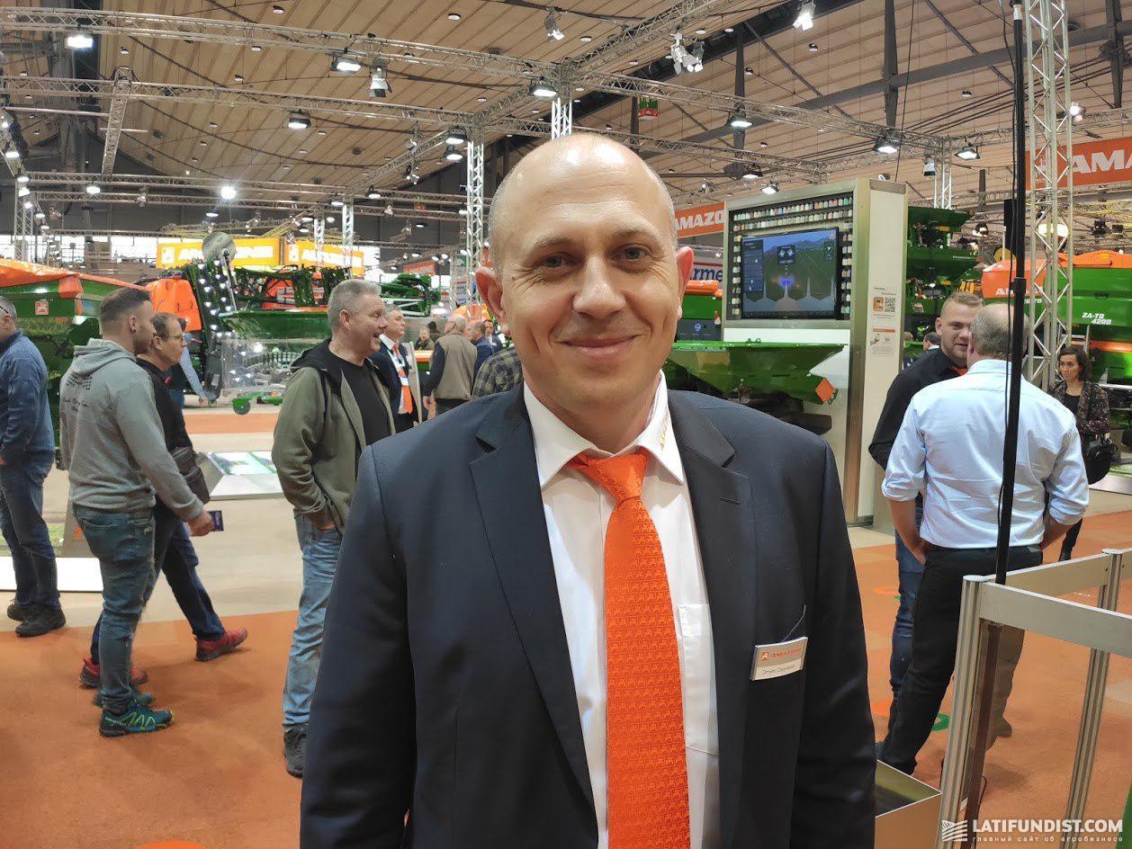 Дмитрий Давыденко, генеральный директор «Амазоне-Украина»