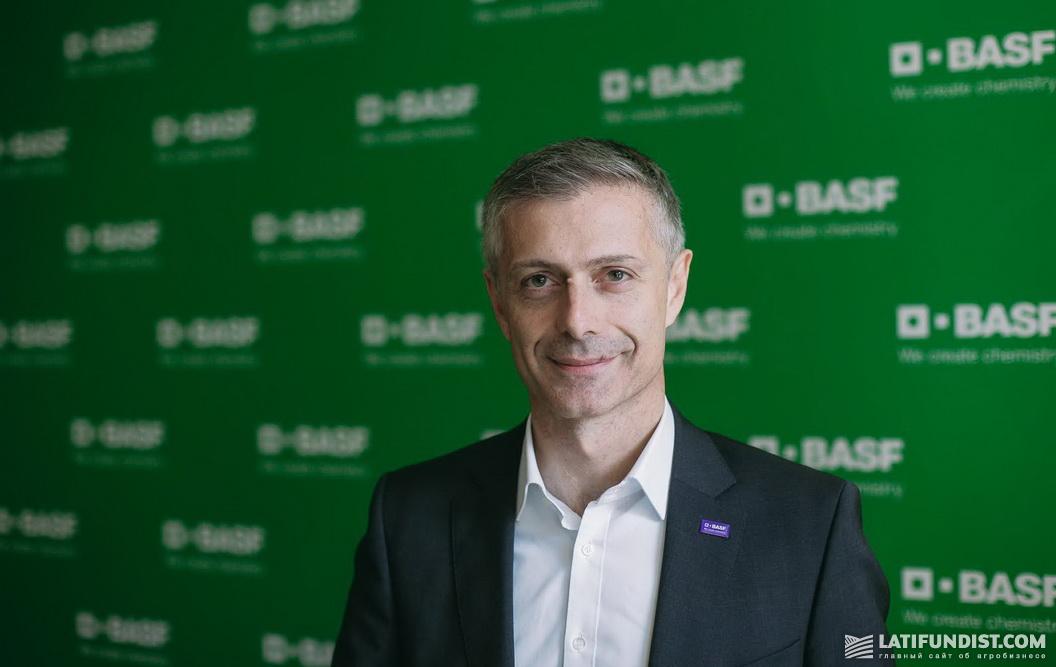 Ливио Тедески, старший вице-президент BASF
