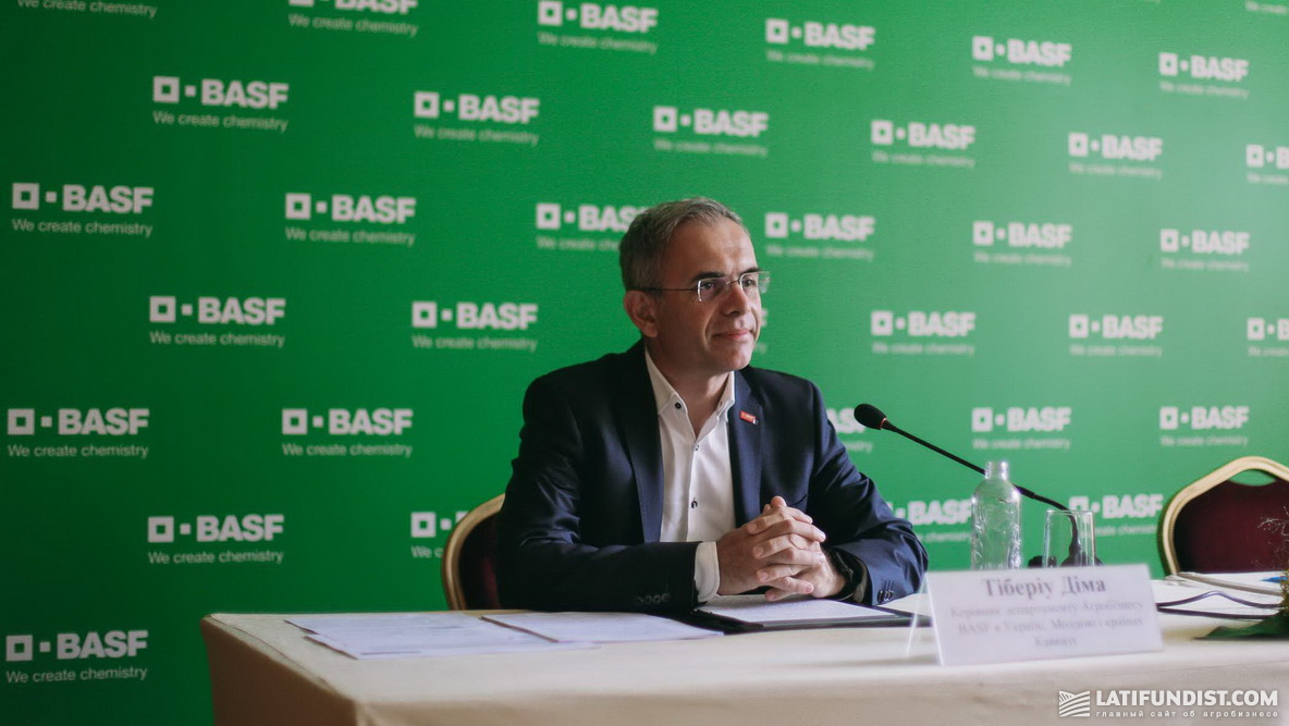 Тибериу Дима, руководитель департамента BASF Agricultural Solutions в Украине, Молдове и странах Кавказа