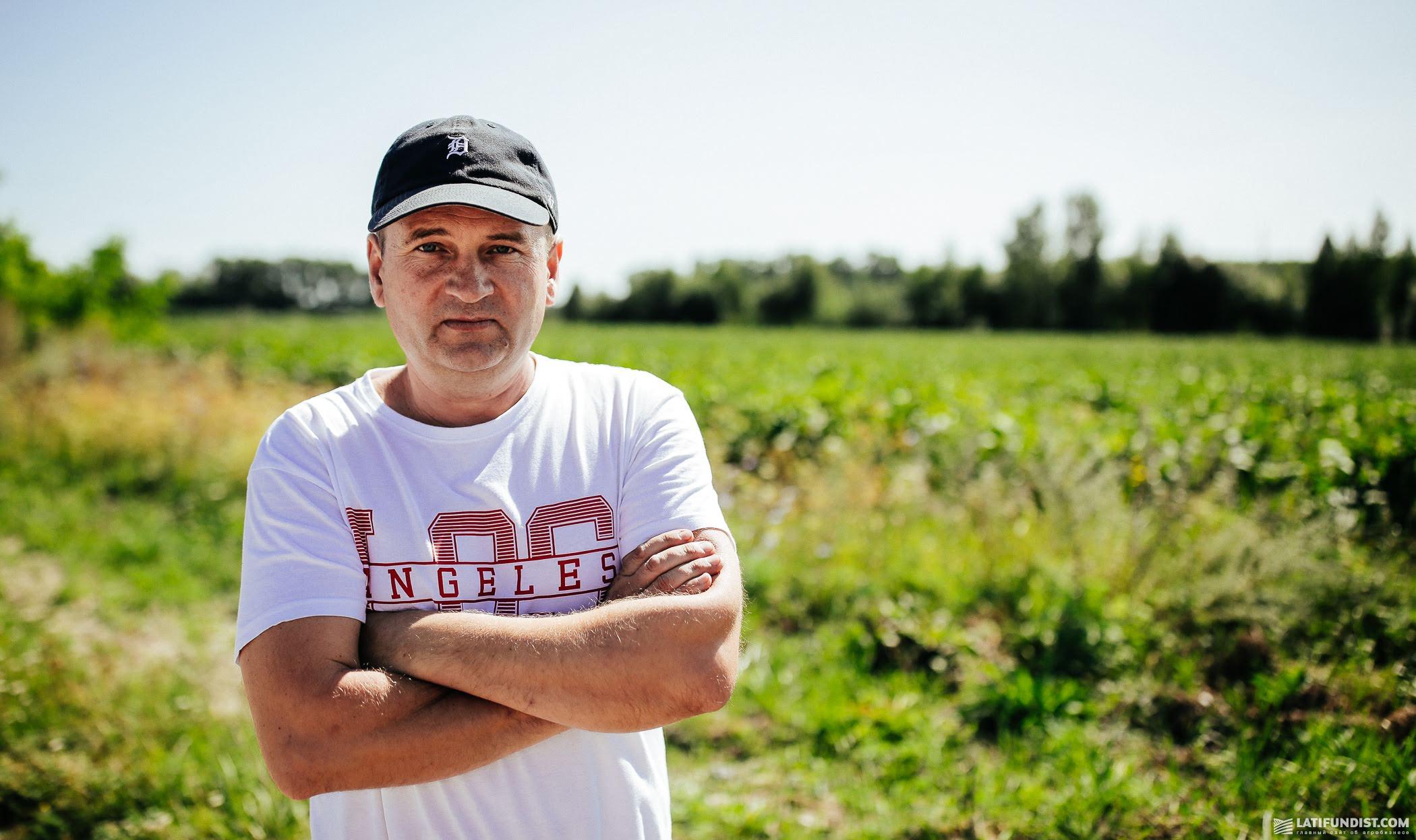 Петр Иванюк, представитель компании «Запад-Агробизнес»