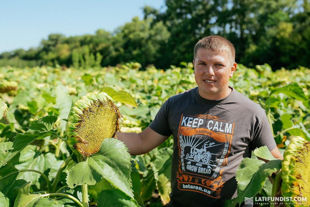 Максим Захаркевич, главный агроном предприятия «Трояновское»