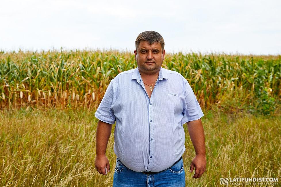 Сергей Галаган, хозяин предприятия «Галаган-Агро»
