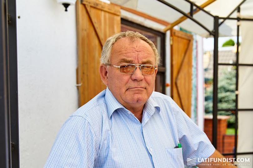 Виктор Бойко, руководитель фермерского хозяйства «Ваяк»