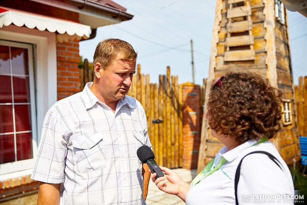 Александр Гришко, руководитель хозяйства «Овис-60»