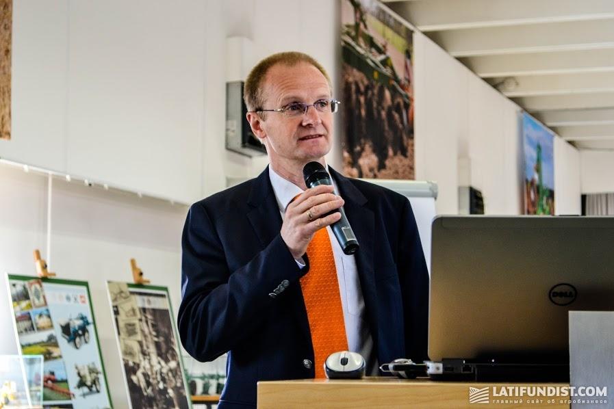 Йенс Майснер, директор по экспорту в страны Восточной Европы