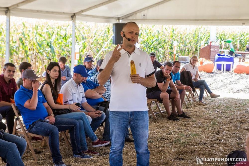 Виталий Каламбет, специалист по агросервису отдела кукурузы компании «КВС-УКРАИНА»