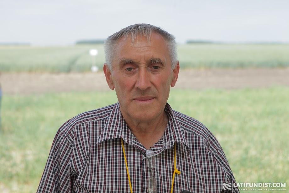 Василий Пензай, агроном хозяйства «Кищенцы»