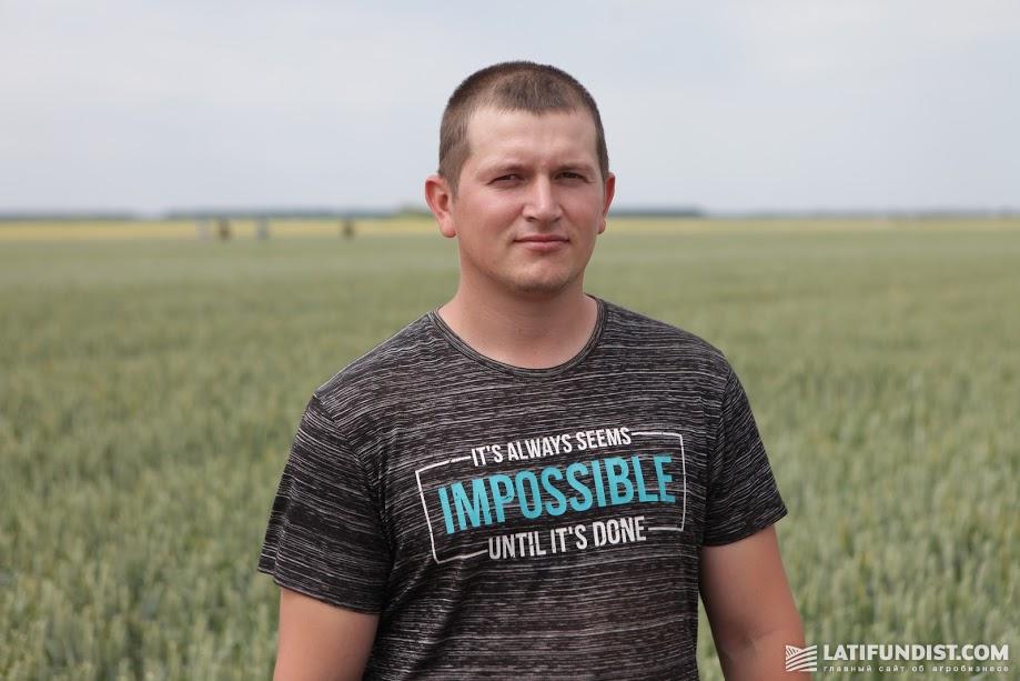 Николай Гаркавенко, агроном компании «Сириус-Агро»