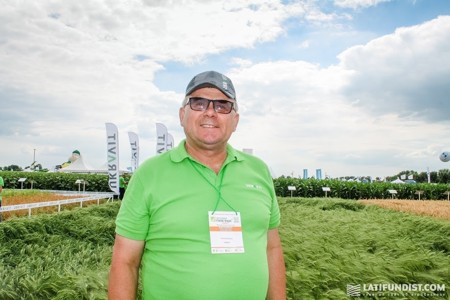 Сергей Адаменко, кандидат с/х наук, начальник отдела развития продуктов и сервисов микроудобрений UKRAVIT