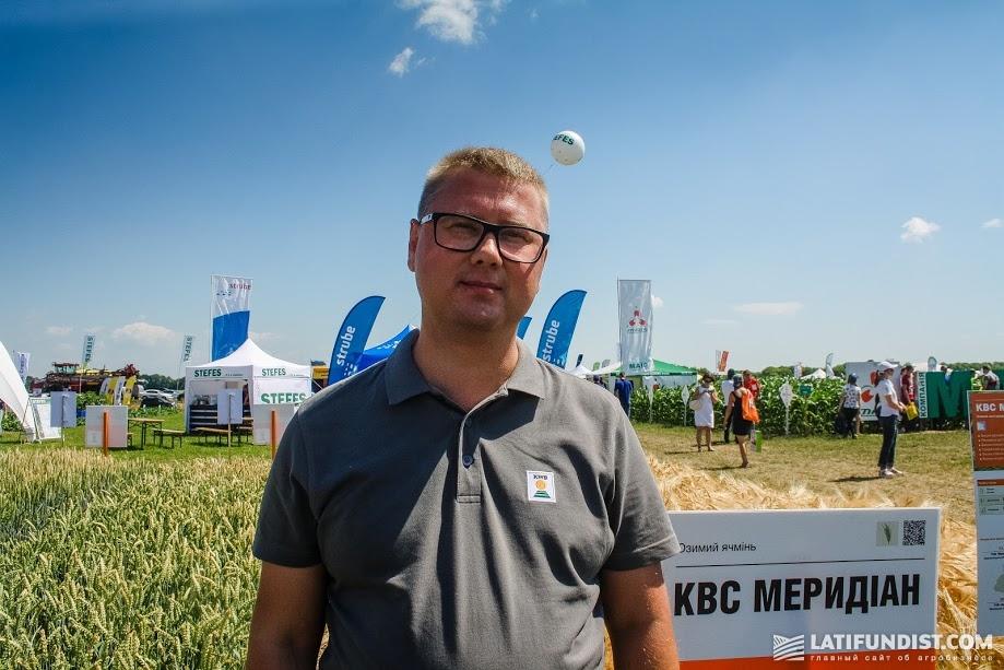 Евгений Станько, руководитель бизнес-направления Зерновые культуры «КВС-Украина»