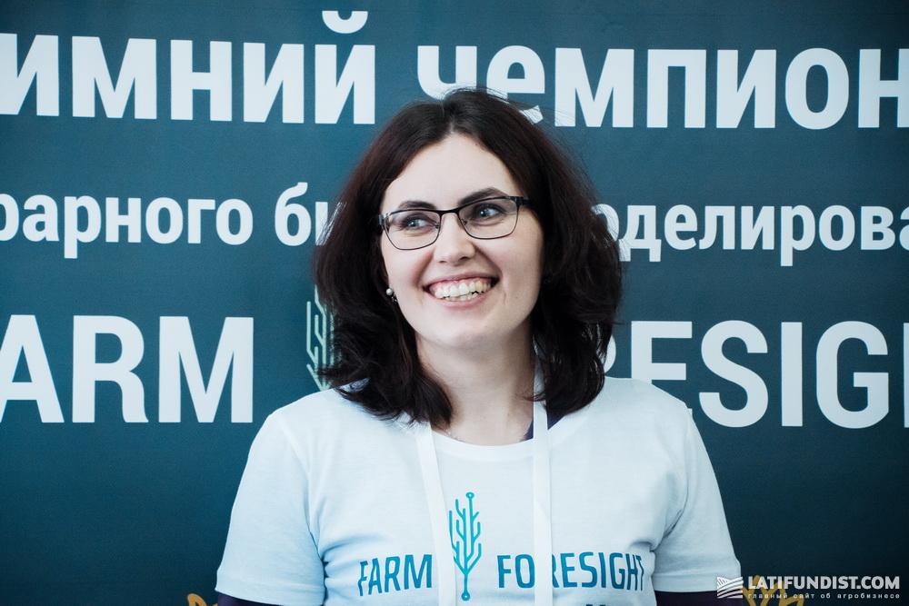 Елена Андреус, программист в отделе ВИ систем МХП («Урожайная страна»)