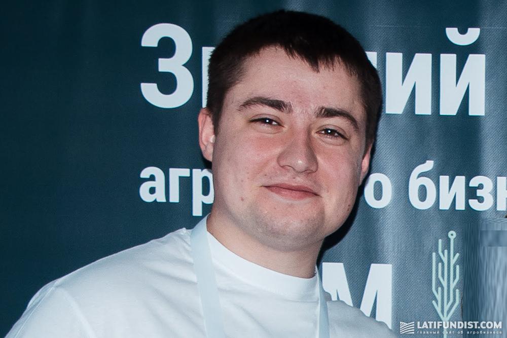 Роман Розум, агроном в хозяйстве «Прикордонне» (Grano Group)