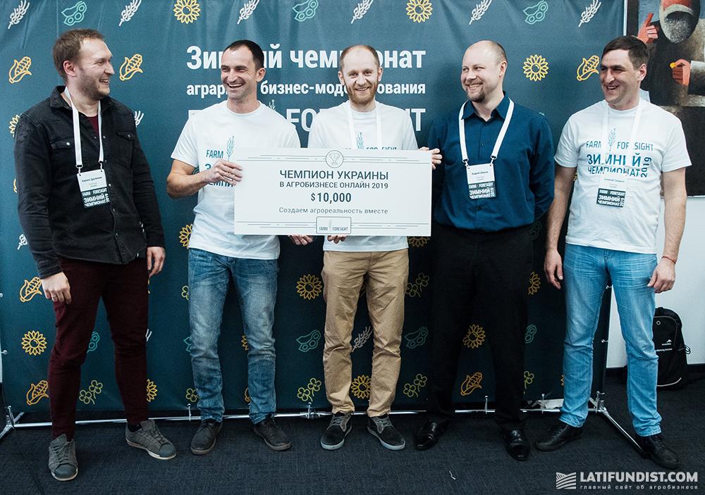 Победитель чемпионата — команда «Агрейн»
