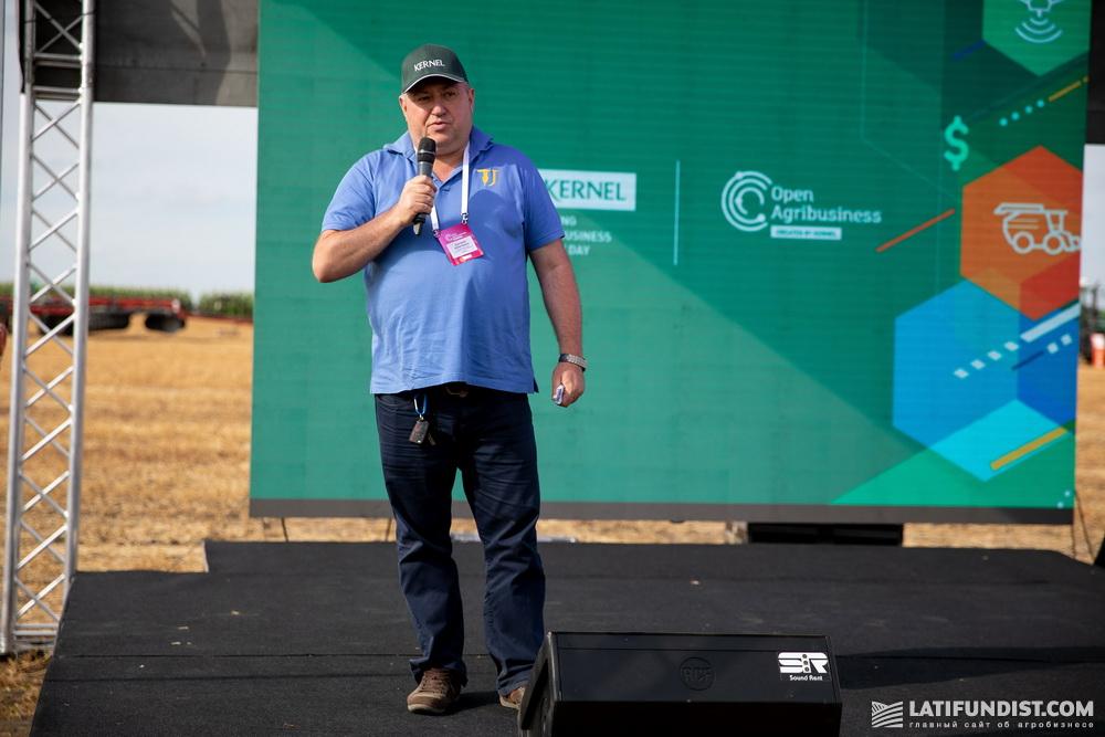 Евгений Шевченко, руководитель подразделения закупок в Черкасской области