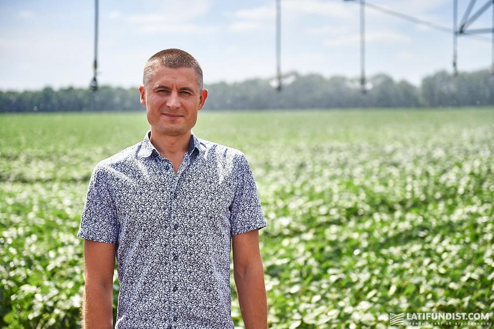 Олег Ковальчук, руководитель отдела орошения «Кернел»