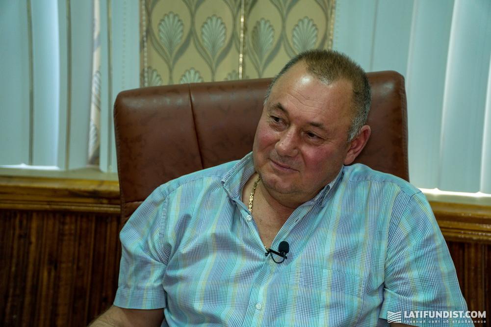 Сергей Маловик, руководитель агрофирмы «Лан»
