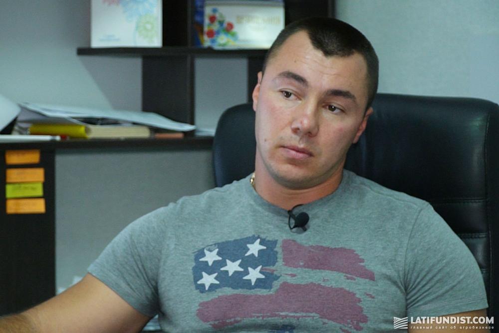 Николай Маловик, фермер, сын директора агрофирмы «Лан»