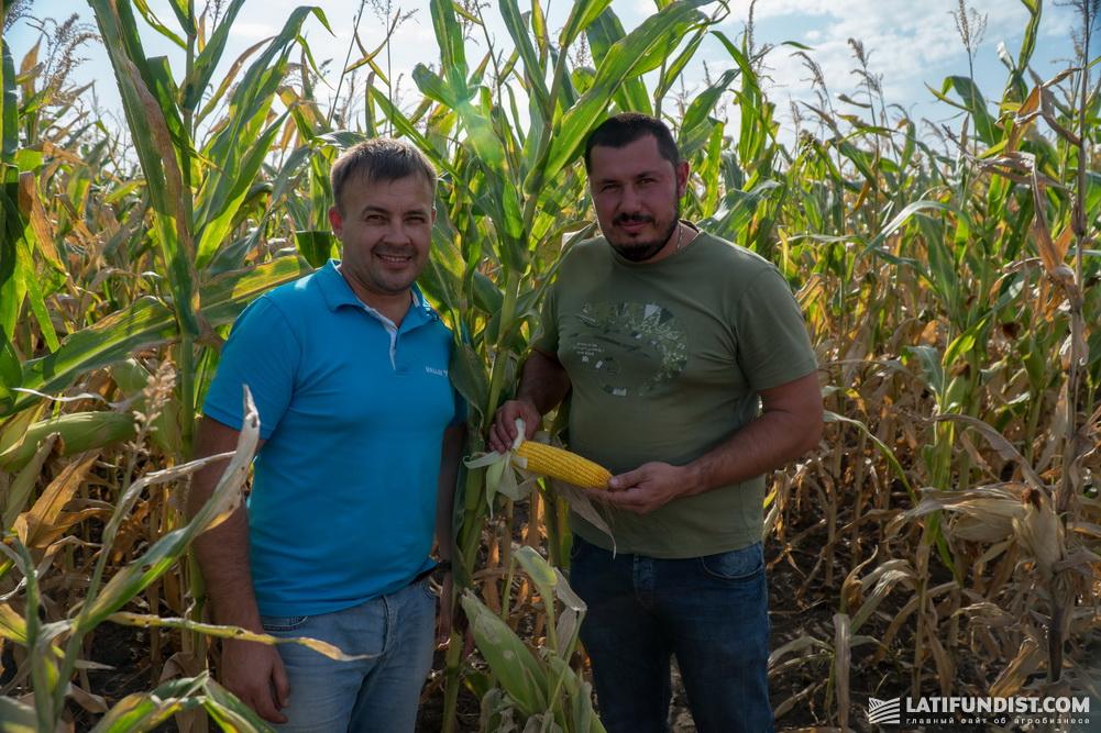 Валентин Балицкий, руководитель направления оросительных систем Valley «Агростроительного альянса «АСТРА» (слева) и Сергей Маловик (справа)