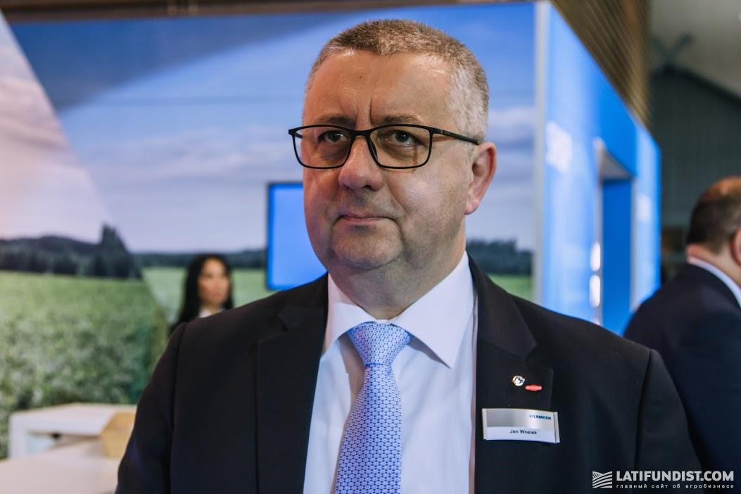 Ян Возик, менеджер по экспорту компании LEMKEN