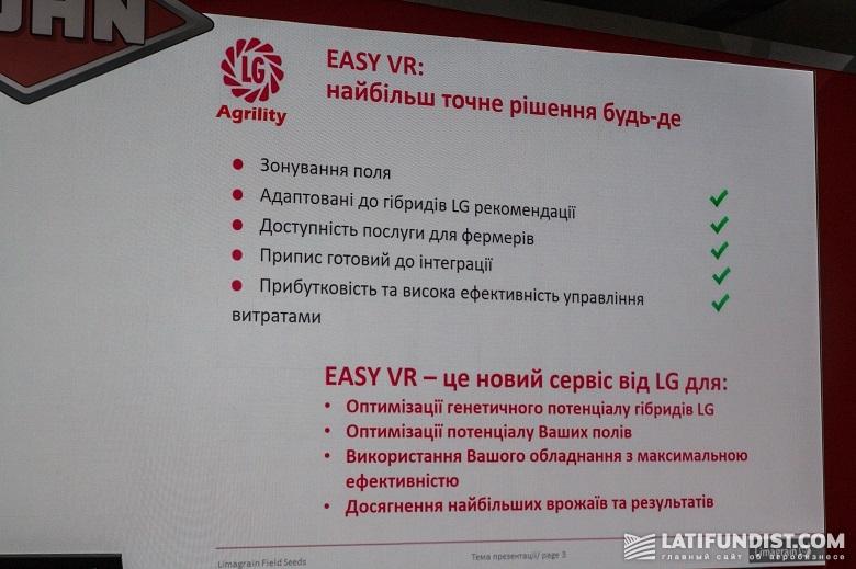 Программа EASY VR