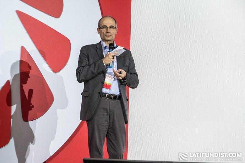 Лоран Бартез, руководитель проекта точного земледелия Limagrain