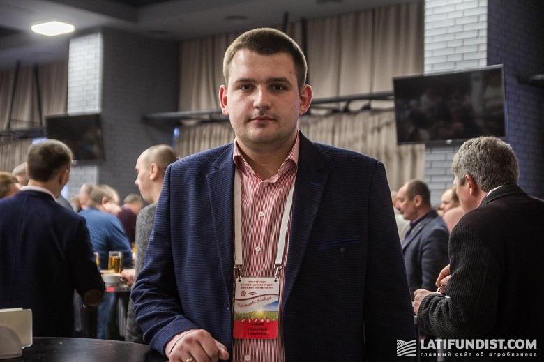 Вадим Смилянец, менеджер по региональному развитию Киевской области компании «Лимагрейн Украина»