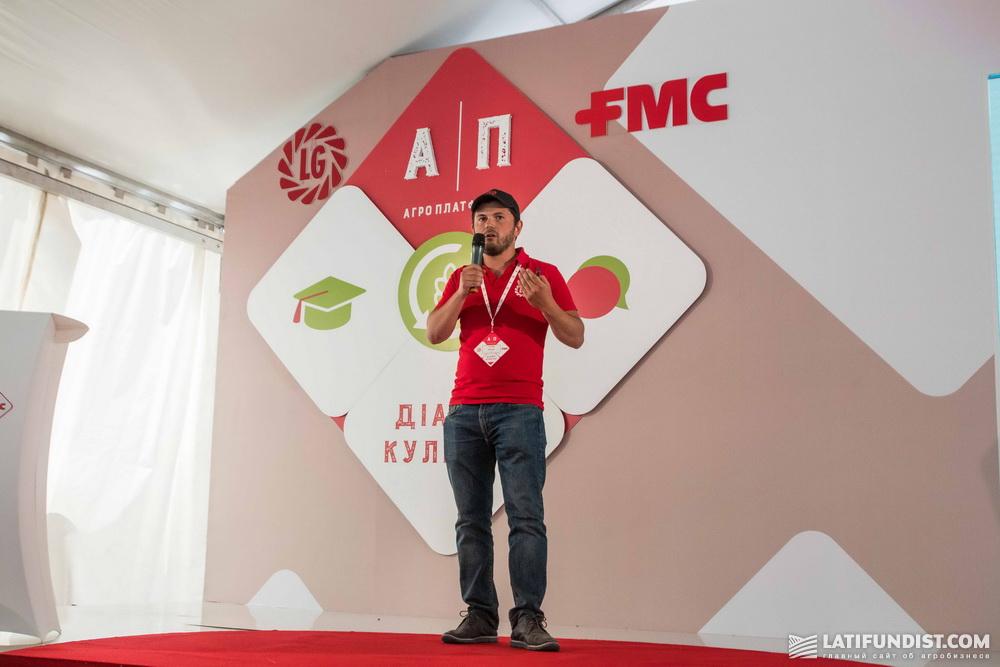 Артем Юрьев, продакт-менеджер по рапсу и зерновым компании «Лимагрейн Украина»