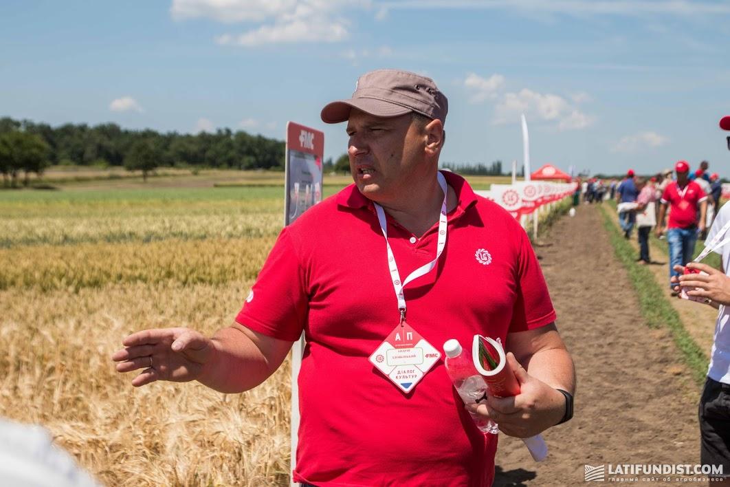 Андрей Здовбицкий, менеджер по региональному развитию компании «Лимагрейн Украина» в Житомирской и Винницкой областях