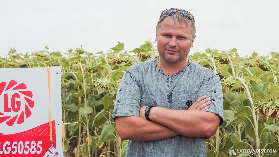 Геннадий Потоцкий, специалист по развитию подсолнечника в Восточной Европе