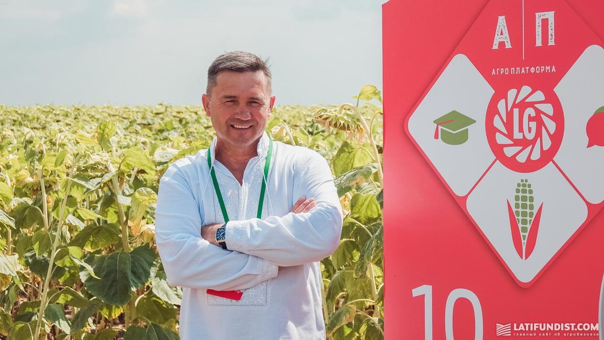Александр Яковенко, хозяин предприятия «Жнива»